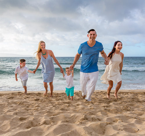 sand, salt and a sunset - a maui family vacation