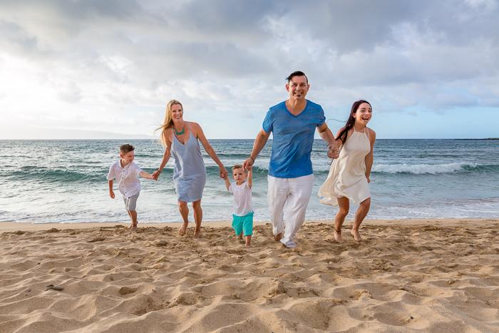 sand, salt and a sunset - a maui family vacation